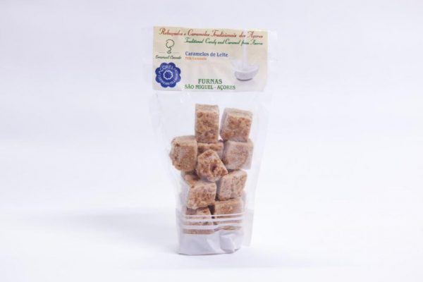 Traditional milk caramels sweets
