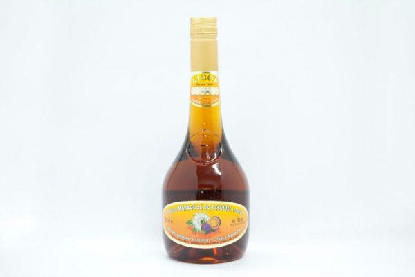 Bottle of 700ml of passion fruit liqueur