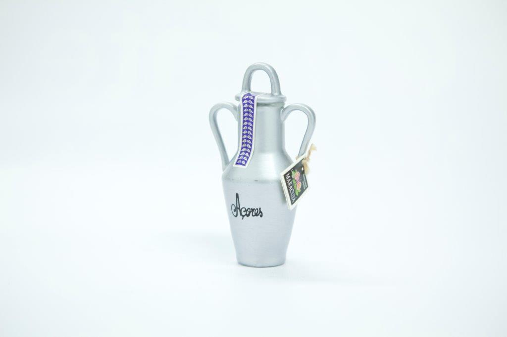 Decorative mini bottle of 50ml of passion fruit liqueur