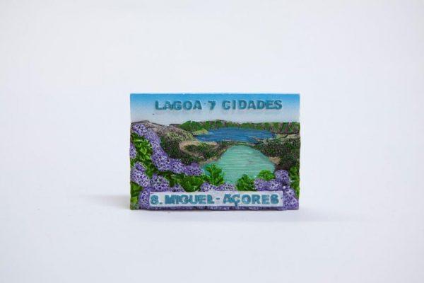 7 Cities Lagoon resin magnet landscape