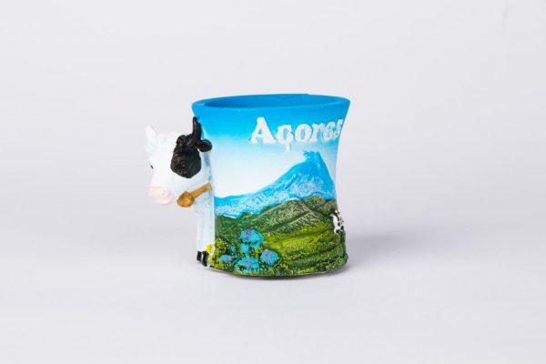 Decorative Small Mug (Cow + Azores)