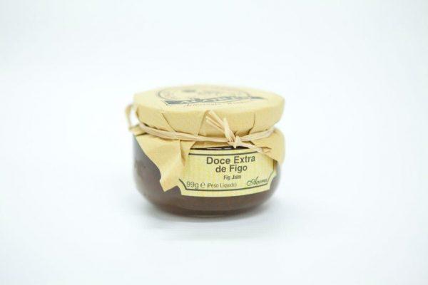 Flask of 99gr of fig jam