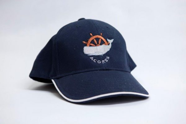 Adults ajustable hat in various colours with Azores and cow logo