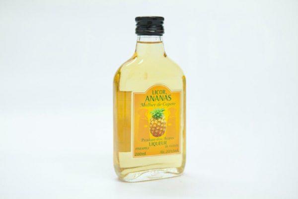 Medium bottle of 200ml of pinapple liqueur