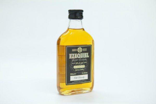 Medium bottle of 200ml of brandy