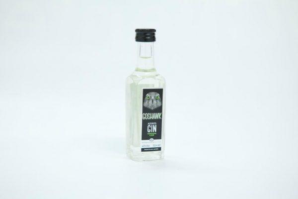 Mini bottle of 50ml of tangerine gin